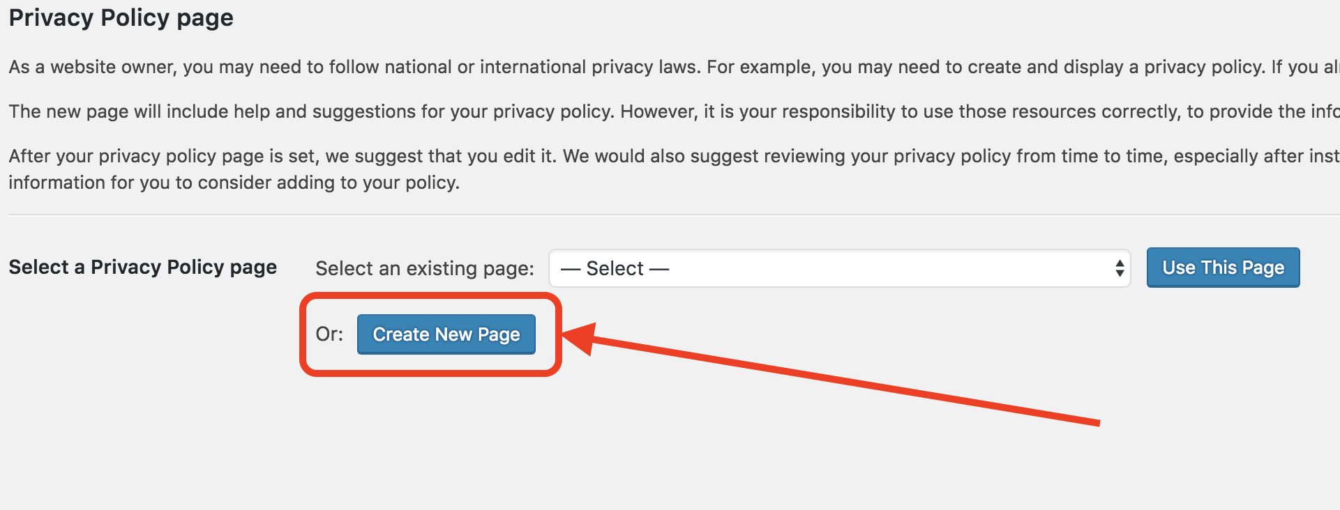How To Use Wordpress To Generate A Privacy Policy Template For You - Privacy page template